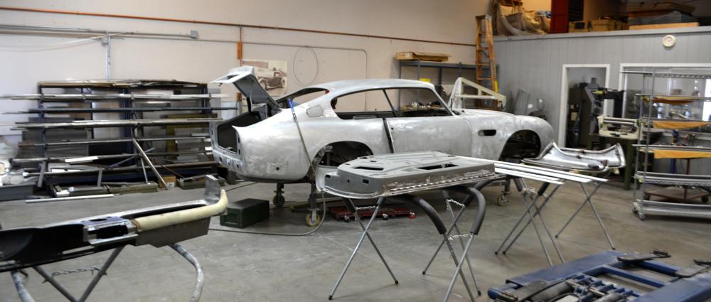 Classic Car Restoration Metal Fabrication work