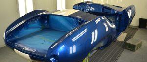 Aston Martin paint finish