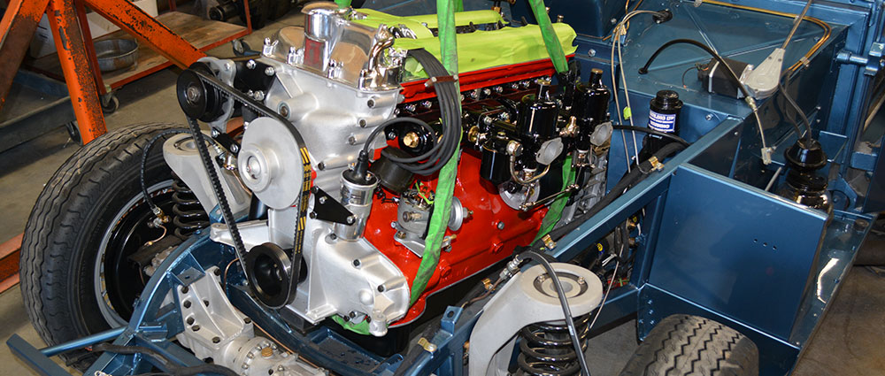 Aston Martin Assembly