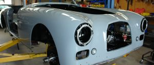 Classic car reassembly