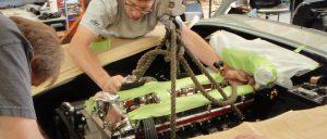Aston Martin Engine Instillation