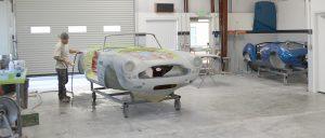 Aston Martin restoration process