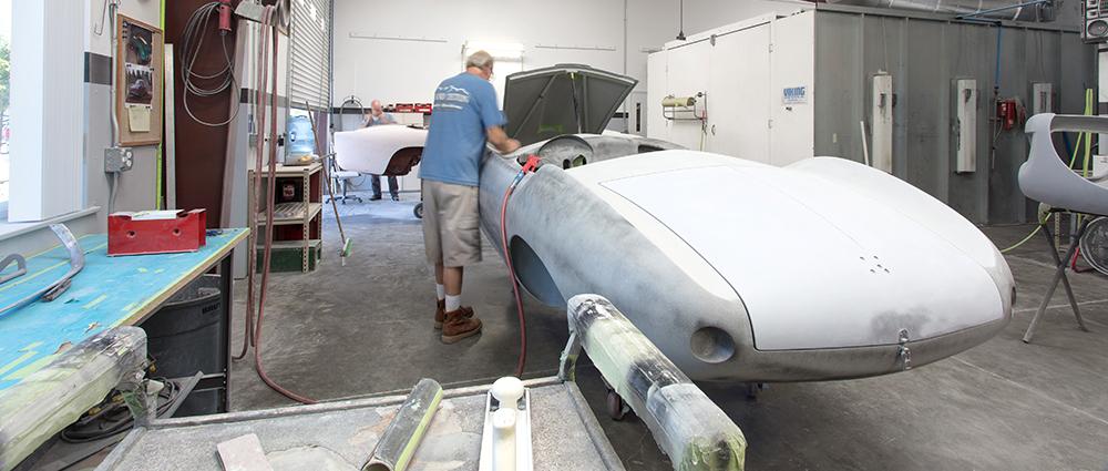Aston Martin Paint prep