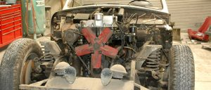 disassemble classic car engine