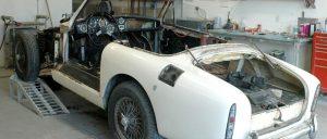 disassemble classic car