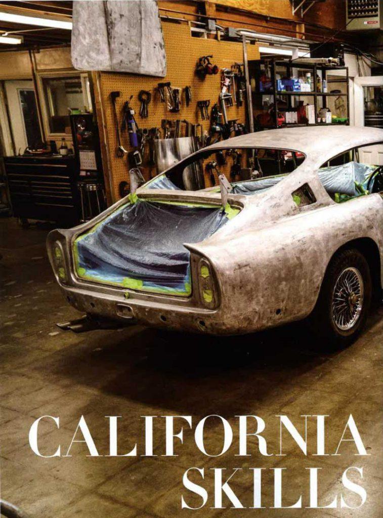 Kevin Kay Restorations - Aston Martin Restoration